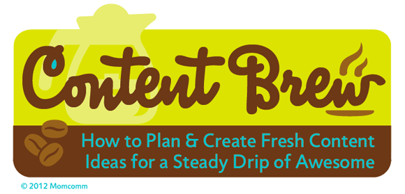 Content Brew: an online content planning course that includes lessons, handouts, videos & a editorial calendar template!